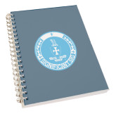 Clear 7 x 10 Spiral Journal Notebook-Significant Sig