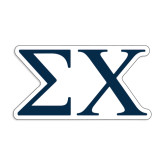 Medium Magnet-Sigma Chi Greek Letters
