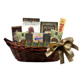Special Treasures Medium Gift Basket-Sigma Chi Greek Letters