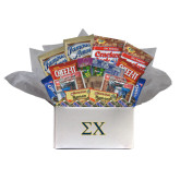 College Care Package Snackdown Deluxe-Sigma Chi Greek Letters