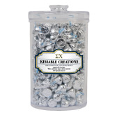 Kissable Creations Large Round Canister-Sigma Chi Greek Letters