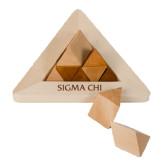 Perplexia Master Pyramid-Sigma Chi Engraved