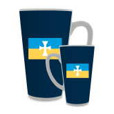 Full Color Latte Mug 17oz-Flag