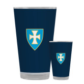 Full Color Glass 17oz-Shield