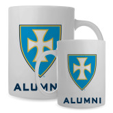 Alumni Full Color White Mug 15oz-Shield