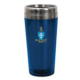 Solano Acrylic Blue Tumbler 16oz-Crest