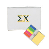 Micro Sticky Book-Sigma Chi Greek Letters