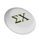 Ultimate White Sport Disc-Sigma Chi Greek Letters