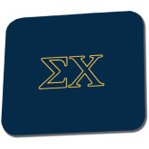 Full Color Mousepad-Sigma Chi Greek Letters