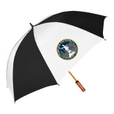 62 Inch Black/White Vented Umbrella-81st Grand Chapter