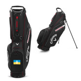 Callaway Hyper Lite 3 Black Stand Bag-Flag