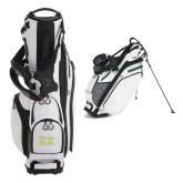Callaway Hyper Lite 4 White Stand Bag-Greek Letters Tackle Twill