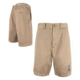 Khaki Harley Shorts 'Crest'-