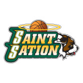 Large Decal-Saint Sation, 12 in H