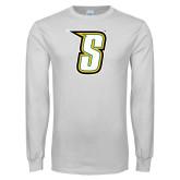 White Long Sleeve T Shirt-S