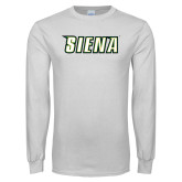 White Long Sleeve T Shirt-Siena
