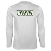 Performance White Longsleeve Shirt-Siena