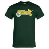 Dark Green T Shirt-2014 Baseball Champions