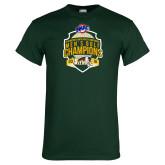 Dark Green T Shirt-2016 MAAC Mens Golf Champions