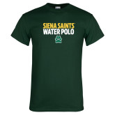 Dark Green T Shirt-Water Polo Stacked