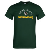 Dark Green T Shirt-Cheerleading Script Design