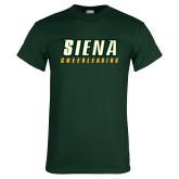 Dark Green T Shirt-Cheerleading