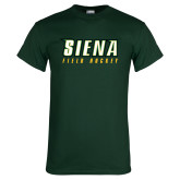 Dark Green T Shirt-Field Hockey