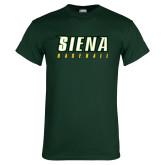 Dark Green T Shirt-Baseball