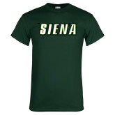 Dark Green T Shirt-Siena