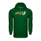 Under Armour Dark Green Performance Sweats Team Hoodie-Siena Generation S
