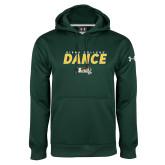 Under Armour Dark Green Performance Sweats Team Hoodie-Dance Design