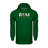 Under Armour Dark Green Performance Sweats Team Hoodie-Siena Saints