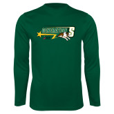 Performance Dark Green Longsleeve Shirt-Siena Generation S