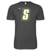 Next Level SoftStyle Charcoal T Shirt-S