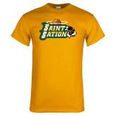 Gold T Shirt-Saint Sation