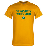 Gold T Shirt-Water Polo Stacked