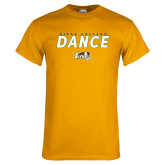 Gold T Shirt-Dance Design