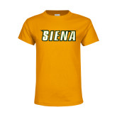 Youth Gold T Shirt-Siena Distressed