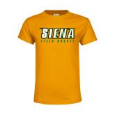 Youth Gold T Shirt-Field Hockey