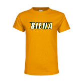 Youth Gold T Shirt-Siena