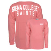 Pink Game Day Jersey Tee-Siena
