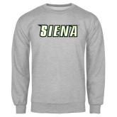 Grey Fleece Crew-Siena
