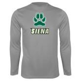 Performance Steel Longsleeve Shirt-Siena w/Paw