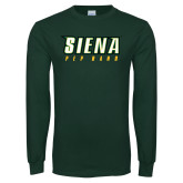 Dark Green Long Sleeve T Shirt-Pep Band