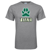 Grey T Shirt-Siena w/Paw
