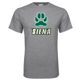 Grey T Shirt-Siena w/Paw