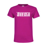 Youth Fuchsia T Shirt-Siena