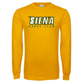 Gold Long Sleeve T Shirt-Dance Team