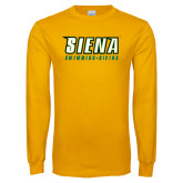 Gold Long Sleeve T Shirt-Swimming-Diving