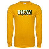 Gold Long Sleeve T Shirt-Golf